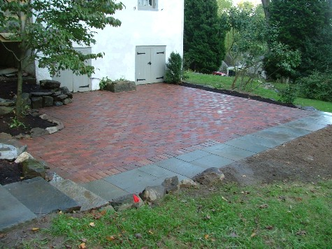 brick patios homes patio improvement designs better home gardens