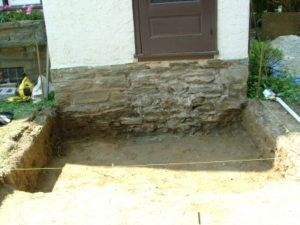 how to install steps with pavers
