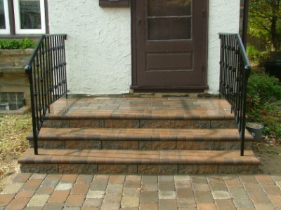 We Show The Way We Construct Steps Using Wall Stones With