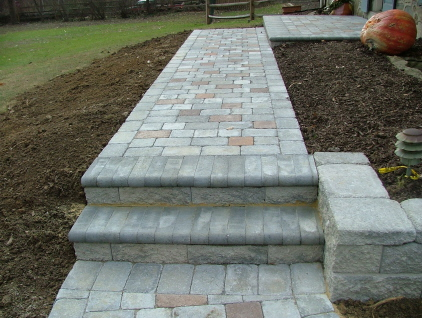 s of EP Henry paver projects showing different color