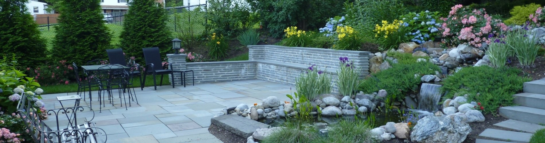 landscaping outdoor lighting u0026 hardscaping designs newtown square