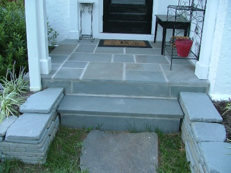 Examples Of Five Different Types Of Bluestone Flagstone