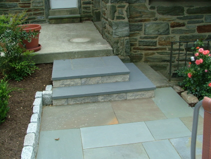 Examples Of Five Different Types Of Bluestone Amp Flagstone