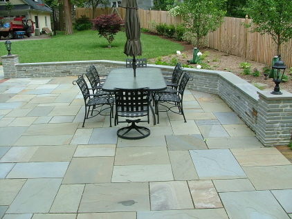 Close Up Of Flagstone: