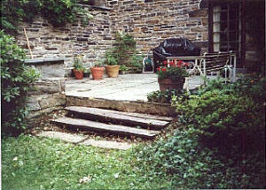 Flagstone and Tie Steps before.jpg (31151 bytes)