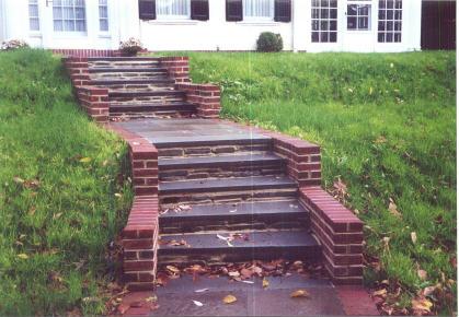 how to clean bluestone steps