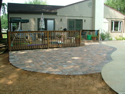 We Show The Way We Construct A Patio Or Walk With Photos