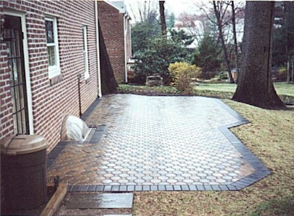 Paver Patios Newtown Square Delaware County Main Line PA - Concrete octagon patio pavers