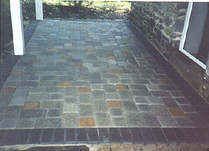 Autumn Blend Brickstone With Autumn Blend Border And About 8% Charcoal  Brickstone Mixed Into Center. Basket Weave Pattern. Bala Cynwyd, Montgomery  County, ...
