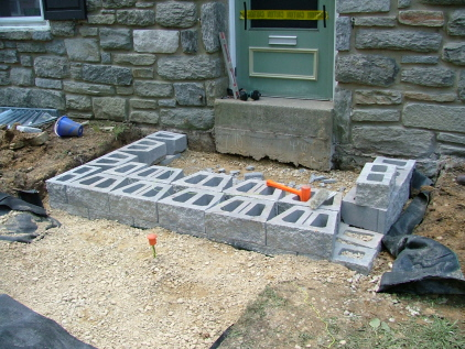 Examples Of Five Different Types Of Bluestone Amp Flagstone Steps Newtown Square Pa