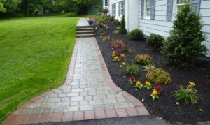 Walk, Steps with Landscaping, Wayne, PA